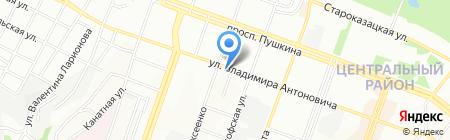 Домашняя аптека на карте Днепропетровска
