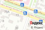 Схема проезда до компании Абажур в Днепре