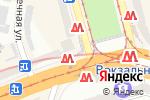 Схема проезда до компании Б/Ушечка в Днепре