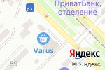 Схема проезда до компании Belosvet в Днепре