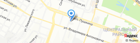 Патриот на карте Днепропетровска
