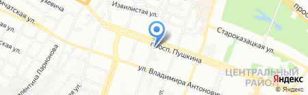 Дхарма на карте Днепропетровска