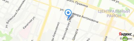 Середня загальноосвітня школа №82 на карте Днепропетровска