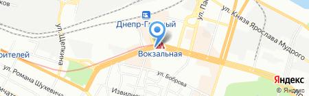 Rust Mobile на карте Днепропетровска