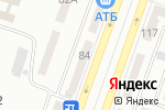 Схема проезда до компании ОКНА & ДВЕРИ в Днепре