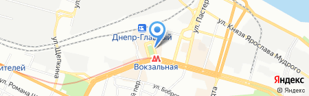 SPRINT на карте Днепропетровска
