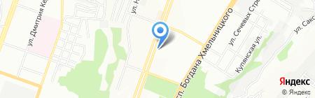 ДИЗАЙН ТРИ А на карте Днепропетровска