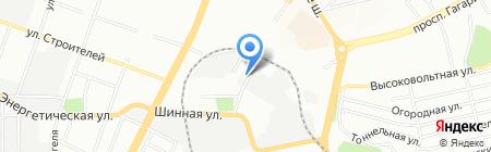 Прома СТ на карте Днепропетровска
