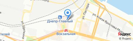 Futbolki.dp.ua на карте Днепропетровска