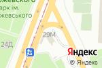 Схема проезда до компании Мир АВТО в Днепре