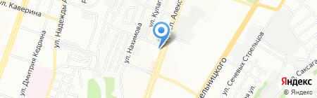 Avantime на карте Днепропетровска
