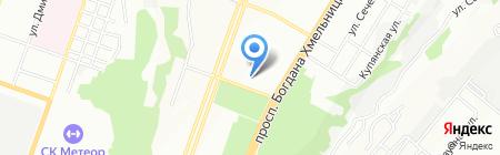 Середня загальноосвітня школа №128 на карте Днепропетровска