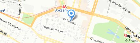 Ветаптека на ул. Чичерина на карте Днепропетровска