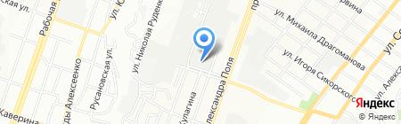AUTOPARTSNETWORK на карте Днепропетровска
