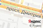 Схема проезда до компании Допомога Дніпра в Днепре