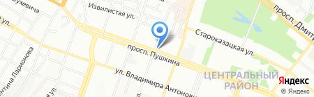 Аптека №4 на карте Днепропетровска