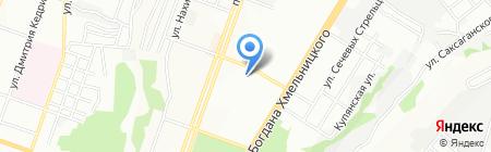 Академия Мыловарения Косметики и Ароматерапии на карте Днепропетровска