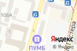 Схема проезда до компании Адвокат Воронский С.А. в Днепре
