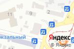 Схема проезда до компании Благодія в Днепре
