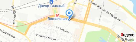 Восточный шашлык на карте Днепропетровска