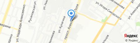ВІКНА на карте Днепропетровска