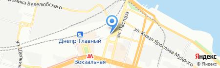 МАСТЕР ЖАЛЮЗИ на карте Днепропетровска