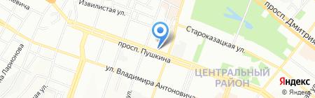 Версаль Тур на карте Днепропетровска
