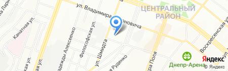 Ремонт рулевых реек на карте Днепропетровска