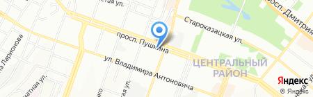 ПолСервис на карте Днепропетровска
