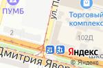 Схема проезда до компании ОптТорг в Днепре