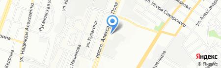 SOFA на карте Днепропетровска