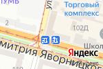 Схема проезда до компании Акація в Днепре
