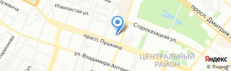 Екосинтез ТОВ на карте Днепропетровска