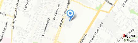 Тандыр на карте Днепропетровска