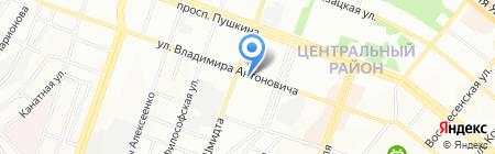 Голиаф ЧП на карте Днепропетровска