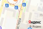 Схема проезда до компании Новинка в Днепре