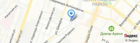 Ной на карте Днепропетровска