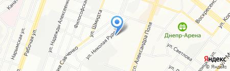 Астар-Транс на карте Днепропетровска