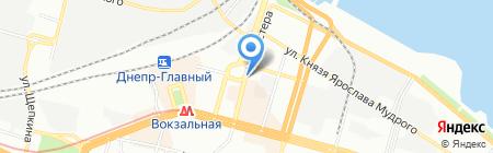 Фараон ПТ на карте Днепропетровска