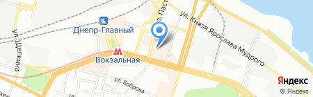 Unimag на карте Днепропетровска