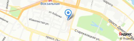 Inksystem на карте Днепропетровска