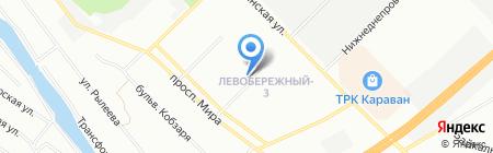 РусДаг на карте Днепропетровска