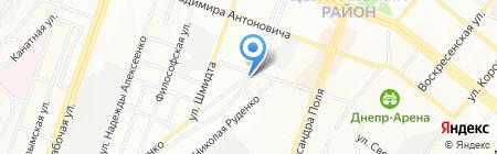 ОКНА & ДВЕРИ на карте Днепропетровска