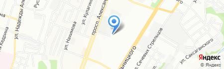 Цифрал-Сервис на карте Днепропетровска