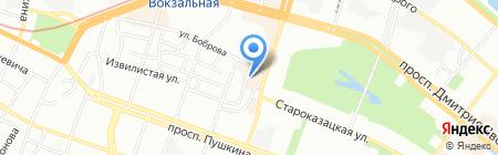 Супермаркет кредитов на карте Днепропетровска