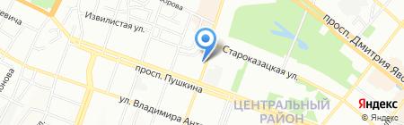 Инсталятор на карте Днепропетровска