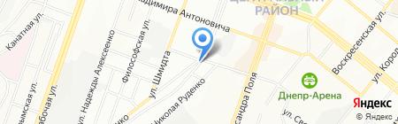 Europotolok на карте Днепропетровска