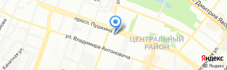 Первая правильная е.Да в Днепропетровске на карте Днепропетровска