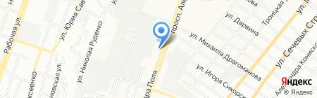 Карамель на карте Днепропетровска