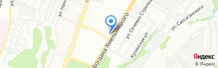 Элина на карте Днепропетровска